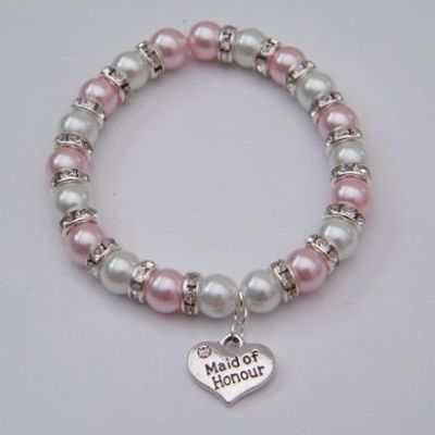 Maid Of Honour Bracelet - Full Sparkle Style
